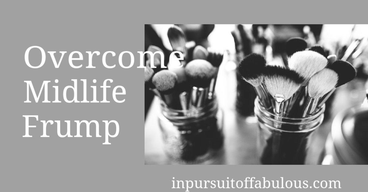 How to Overcome Midlife Frump http://bit.ly/2UN1bDJ #author #writer #creativehappylife #lifestyleblogger #fictionauthorpic.twitter.com/F3Rv8M6vdM