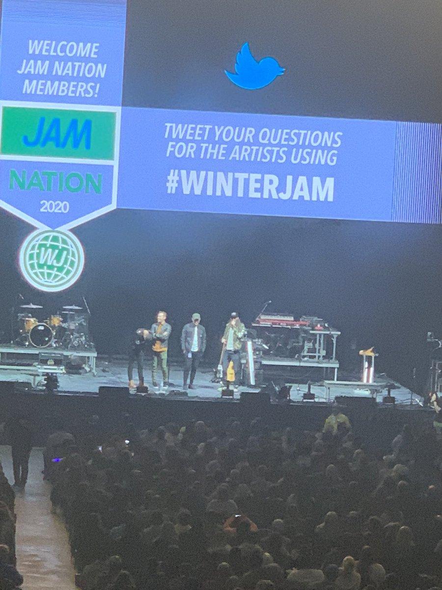 #Winterjam 2020pic.twitter.com/caL0iZemry – at Greensboro Coliseum Complex