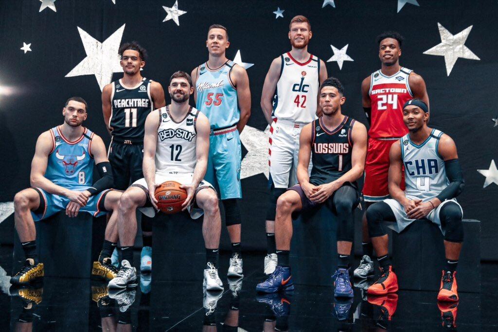 #NBAAllStar Cumartesi günü etkinlikleri başlıyor! Yetenek, üç sayı ve smaç yarışmaları birazdan sahiplerini bulacak! #StateFarmSaturday