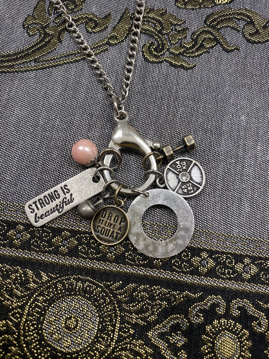 This one is just waiting to be personalized! #Strongisbeautiful my #etsy shop: Personalized Multi Charm Necklace https://etsy.me/2SLFncdpic.twitter.com/wlNGOFul19