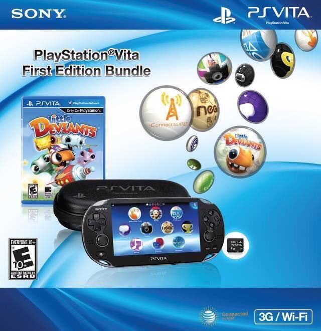PlayStation Vita (First Edition) was released on this day in North America, 8 years ago (2012)