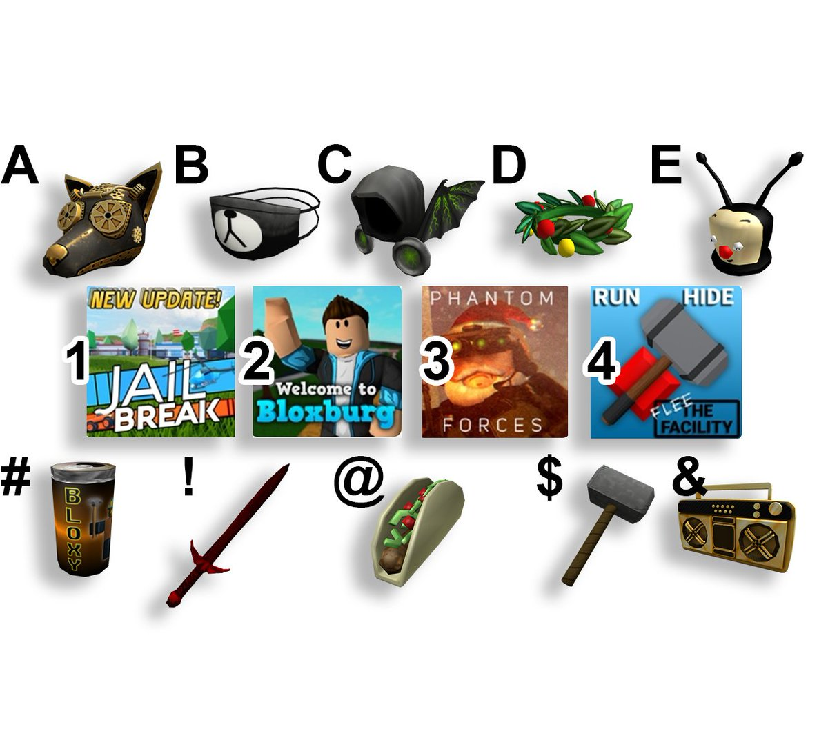 Which combo are you picking for the ultimate Roblox experience? 👀