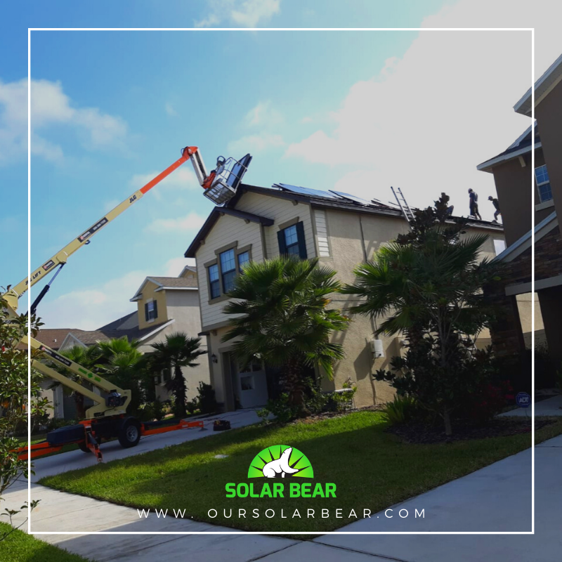 Another day, another roof, another Solar PV system going up!! http://www.oursolarbear.com   #teamsolarbear #solarrevolution #solarinstallday #solarpanels #florida #silfab #solaredge #solarpv #solar #solarenergy #cleanenergy #sustainableenergy #cleanenergypic.twitter.com/0P0yTAfI6a