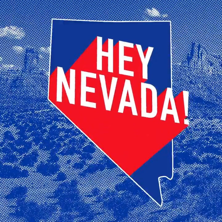 Today is the last day to early vote, Nevada! Confirm your polling location at http://caucus.nvdems.com and head to the polls to make your voice heard.