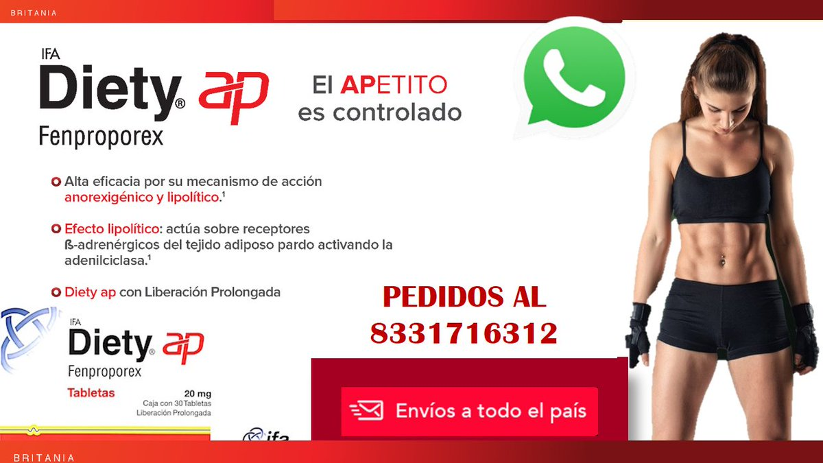 Diety Fenpreporex Un auxiliar en el control de peso para eliminar la ansiedad por comer #Tampico #Madero #Dieta #Obesidad #Fit #fitness #fitnessgirl #FitMom #Adelgazar #Tamaulipecos #UnidosXAtlas #DiablosTwitteros #salud #LigaMX #Jornada6 #SabadoDeGanarSeguidores #SalarioRosapic.twitter.com/5n0dQzguTP