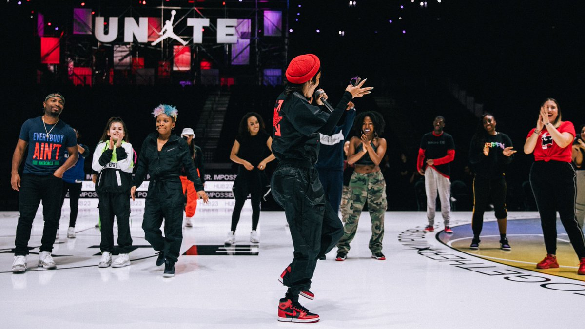 """""""I'm here to get y'all hyped."""" - @TEYANATAYLOR"""