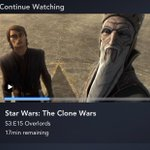 Image for the Tweet beginning: When I watch #theclonewars I