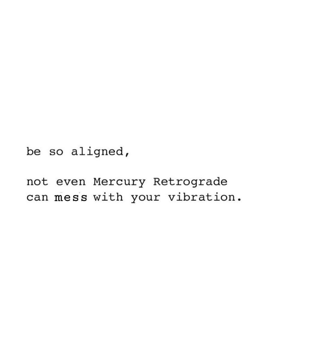 Mercury retrograde starts today till March 9th.. enjoy the ride 😛