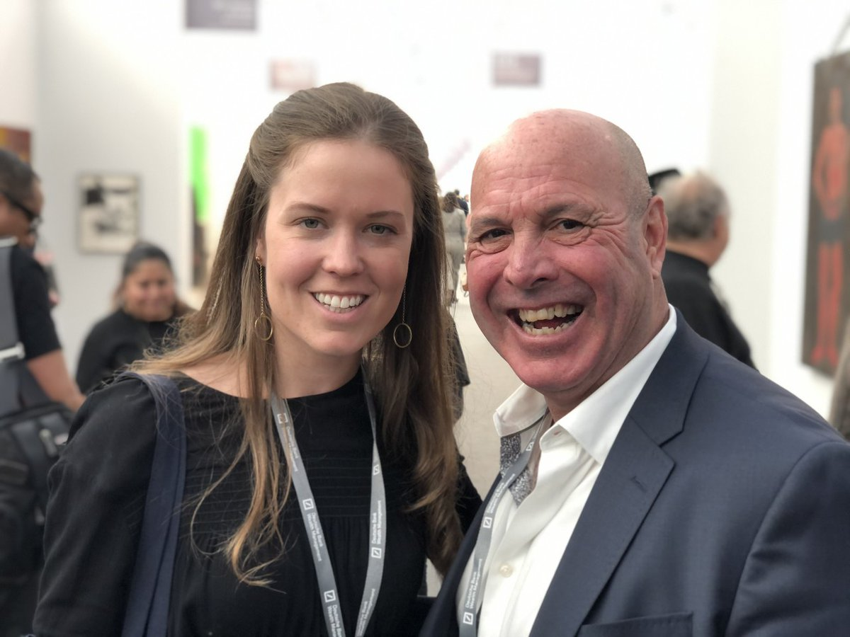 Have you checked out the @FriezeArtFair Los Angeles? Meet Rich Kolosky, Director of our San Francisco gallery, and Emma Barnes, Fine Art Assistant, walki... http://bit.ly/2KSvzcB  #heatherjamesfineart #losangeles #frieze #friezeartfair #friezelosangeles #art #artfair #design