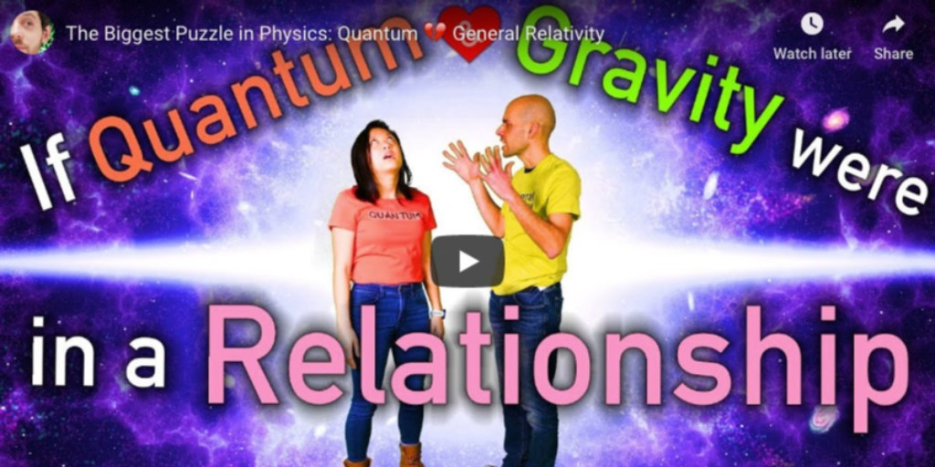 Continuing with the Valentine's theme this weekend...  If Quantum and Gravity were in a relationship, what would happen?  Would it be the worst Valentine's Day in the Universe?  https://youtu.be/0UQQDTNZAp0  #quantumphysics #nova #WPBS #PBS #valentinesdaypic.twitter.com/CdtoMUa3Rf