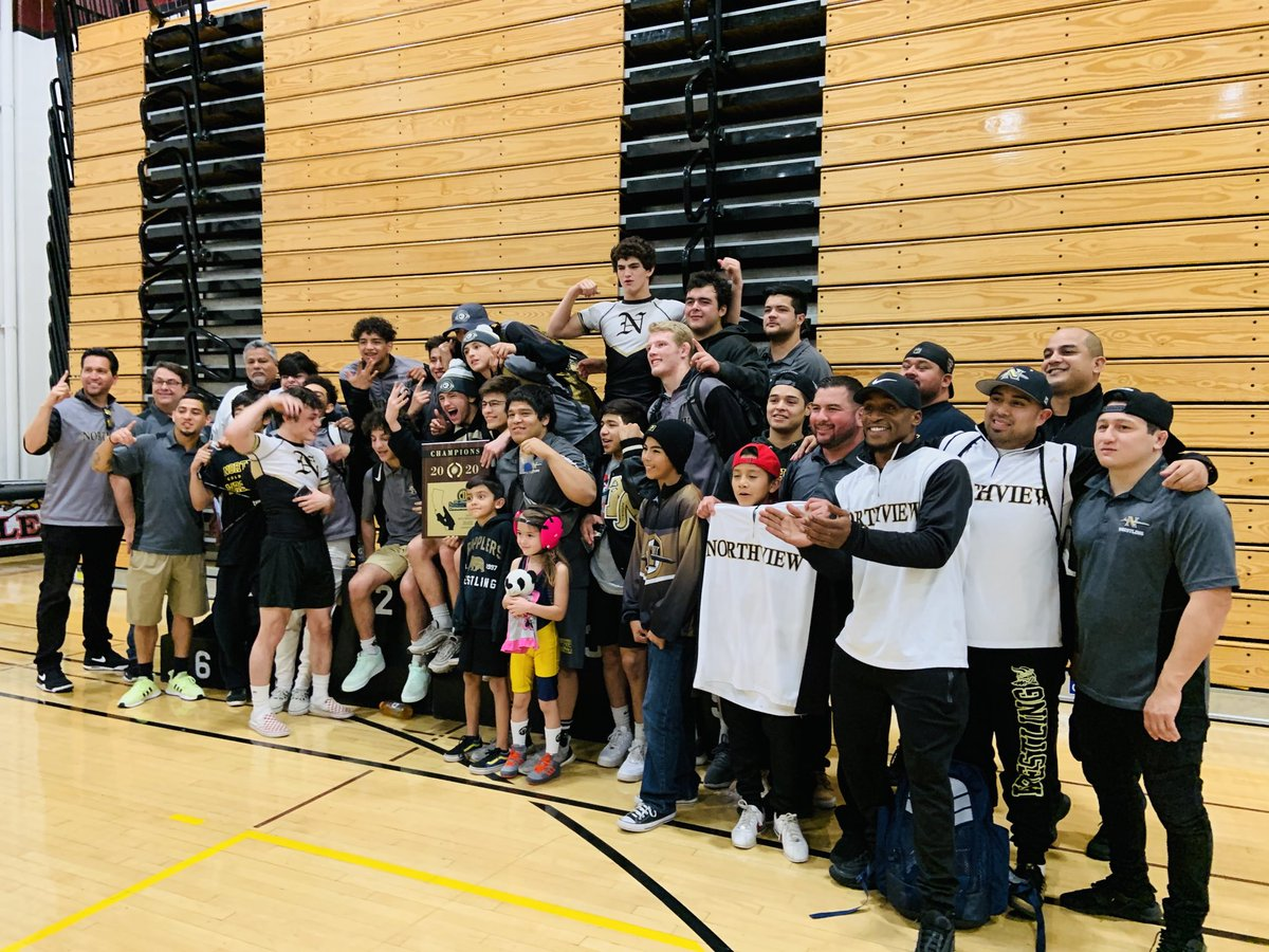 CIF Champions!!! Congratulations to our student athletes, coaches, teachers, and parents that sacrifice so much with hard work on the mat, classroom, and at home. A great way to start the new decade! #TheTraditionContinues #goldblooded @CVUSD_Supt_DrS @SGVNSports