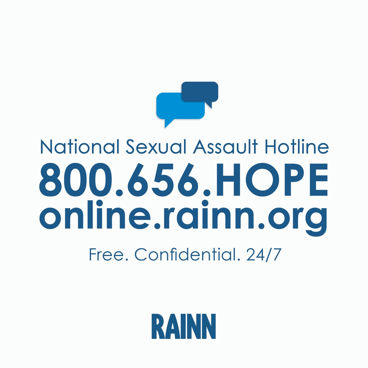 Watching #YouCantTakeMyDaughter on @lifetimetv and need to talk? Anonymous, confidential support is available 24/7 at our National Sexual Assault Hotline.   Call 800.656.HOPE (4673) or visit  to get help.
