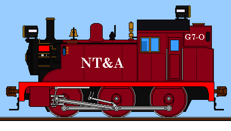 Here's the New Topeka & Atlantic's G7-O 0-6-0 switcher, The new switcher in the NT&A's standardization efforts, this engine is most likely seen in swarms in big freight yards or as station pilots for terminals. <br>http://pic.twitter.com/6reSDIIMGa