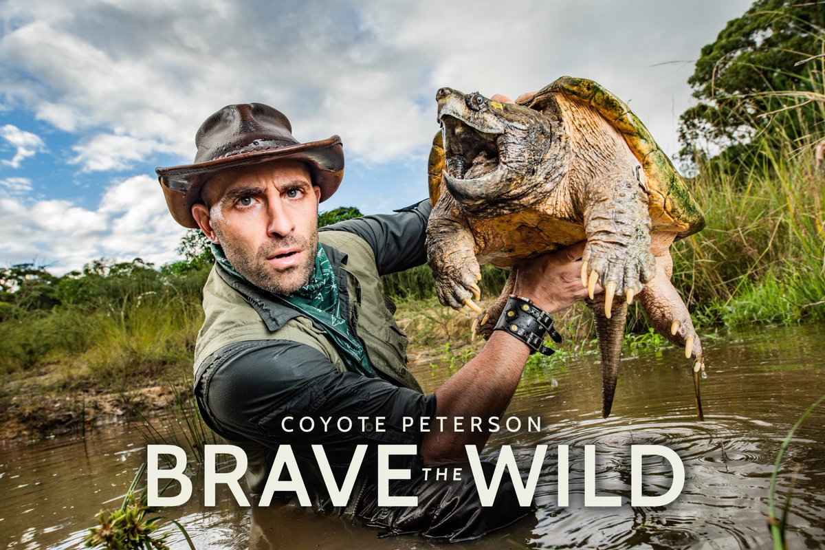 Passionate about inspiring a whole new generation of animal enthusiasts, @coyotepeterson host of @bravewilderness, travels to all new destinations around the globe to share incredible animal experiences.   Watch tonight at 9 PM ET/PT on @AnimalPlanet.