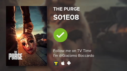 test Twitter Media - I've just watched episode S01E08 of The Purge! #purge  #tvtime https://t.co/rP7UMQc8fG https://t.co/x0TaLoS8v0