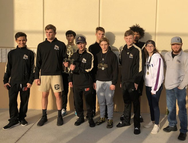 Our wrestling team  placed 2nd in our final regular season tournament. Looking forward to the post-season! #onehurricane <br>http://pic.twitter.com/Cee3GZstR3