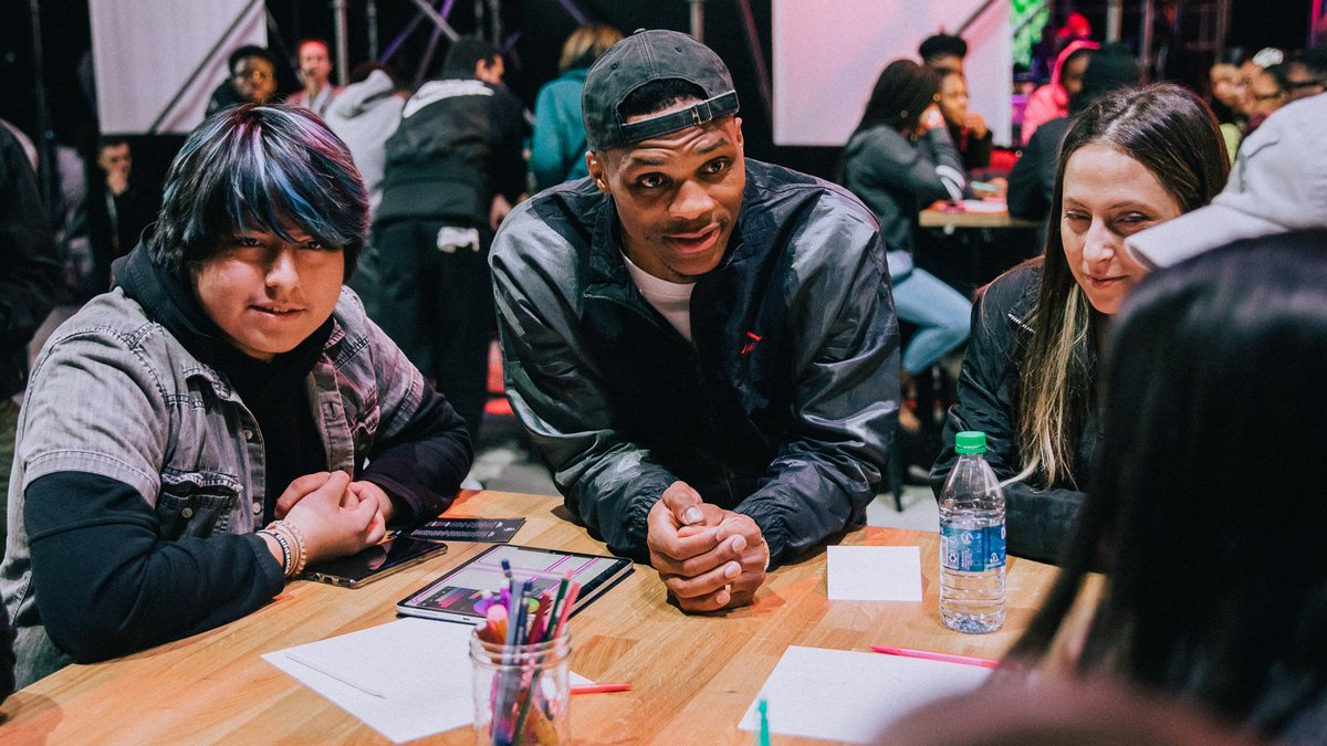 """""""Start with where you're from, what do you think about when you think about your neighborhood?"""" - @russwest44"""