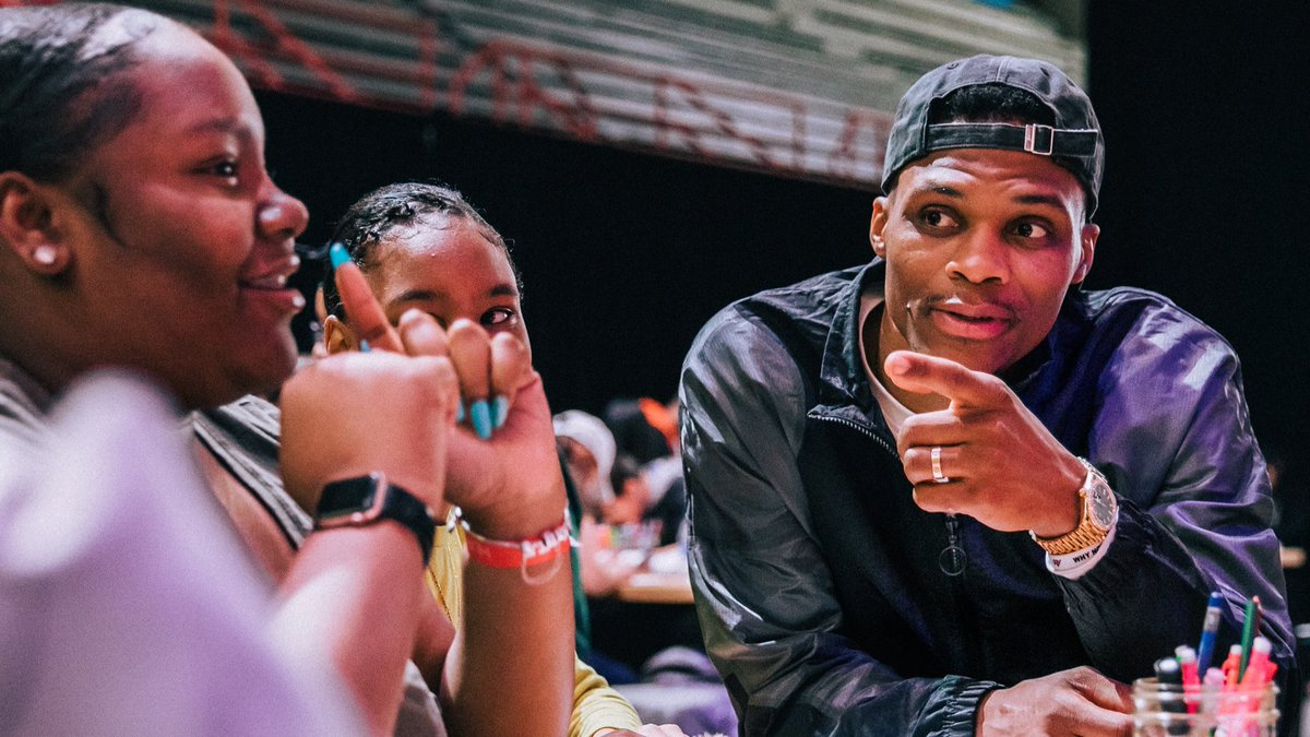 """You should be inspired about where you're from."" - @russwest44"