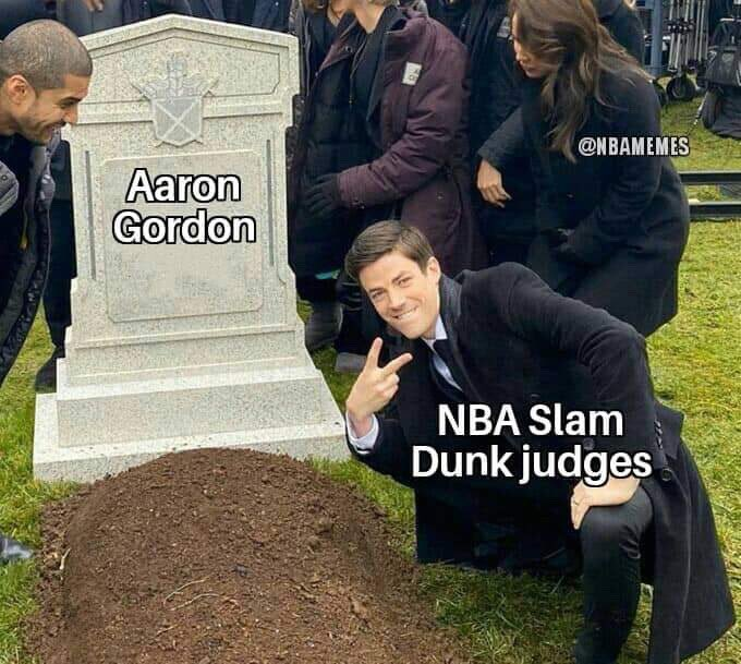 Once again Aaron Gordon gets robbed. https://t.co/BfJTx8NaYt