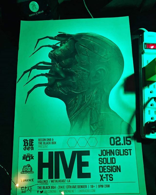 Join us tonight Doors are open at @theblackbox5280 // HIVE is headlining via @recondnb.  #denver #denverevents #denvermusic #denverart #denverco #denverartist #denvernightlife #denvernow #colorado #coloradolife #coloradogram #events #dnb #drumnbasspic.twitter.com/hR4iL670QD