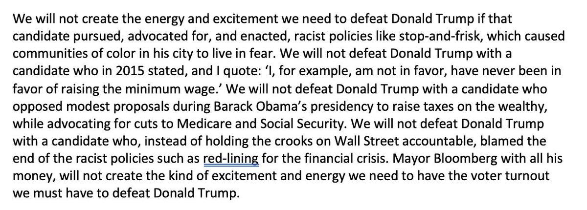 Verbatim of @BernieSanders going after Bloomberg in Las Vegas just now