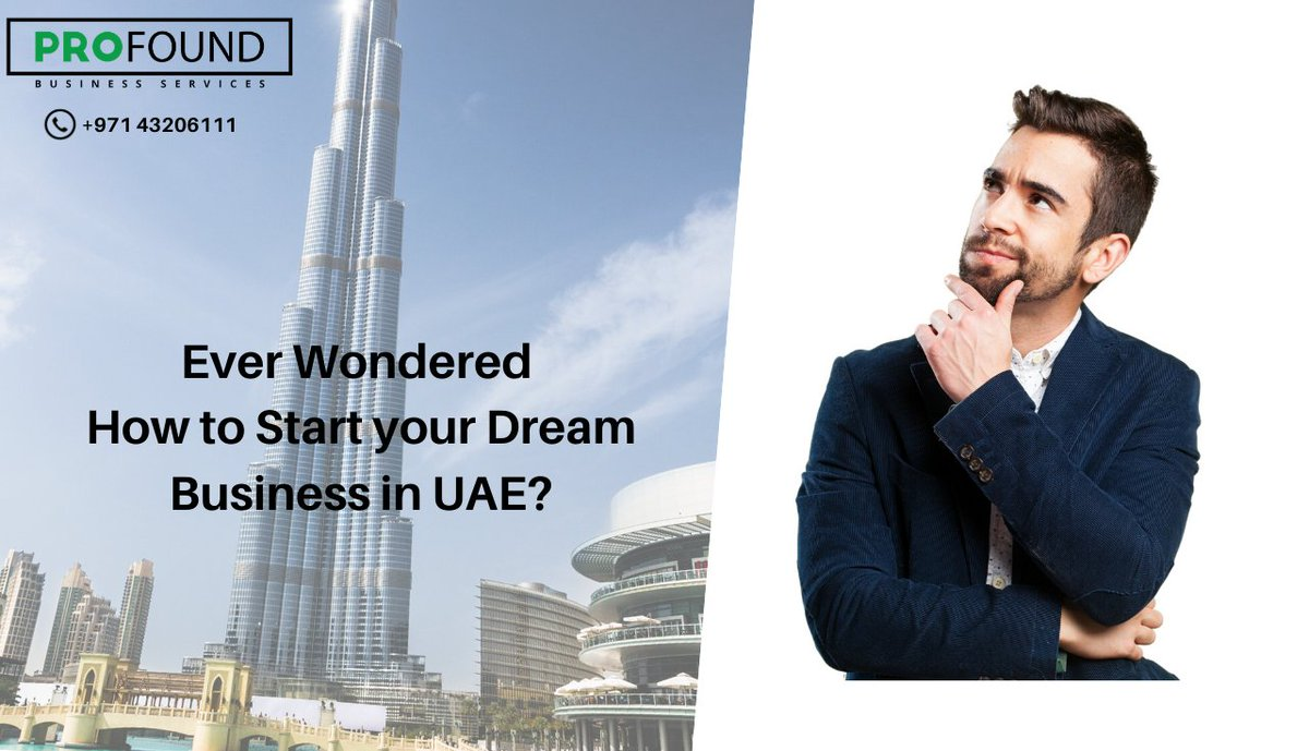 Have you ever wondered how to start your dream business in UAE? Start your dream business with Profound Business Services - The Best Business Consultants in U Website - https://profounduae.com/  #businessconsultantsinuae #businessservices #businesssetup #businesssetupinuae #Dubaipic.twitter.com/aBYJfnY7xe