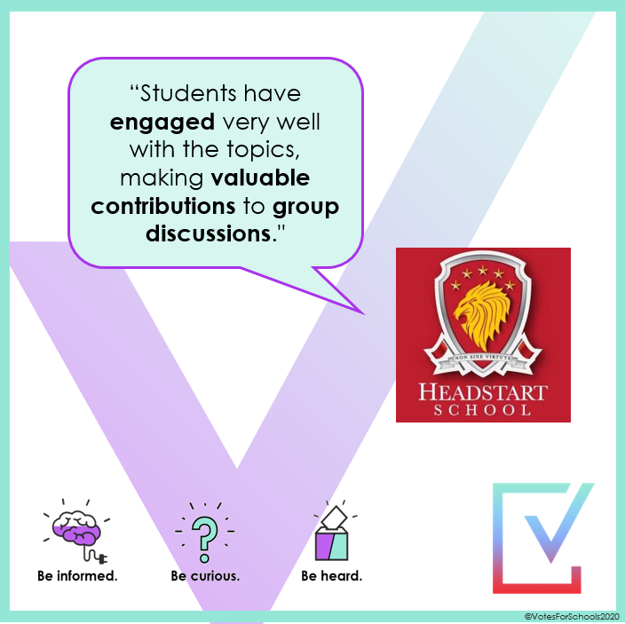 Thanks Headstart! We love hearing about the impact our lessons have! Teachers, if you haven't tried us already, head on over to http://ow.ly/Gjp850y48hq to download a free sample lesson! #youngpolitician #teacherresources #primaryresources  #oracy  .pic.twitter.com/N6Gf7rjnka
