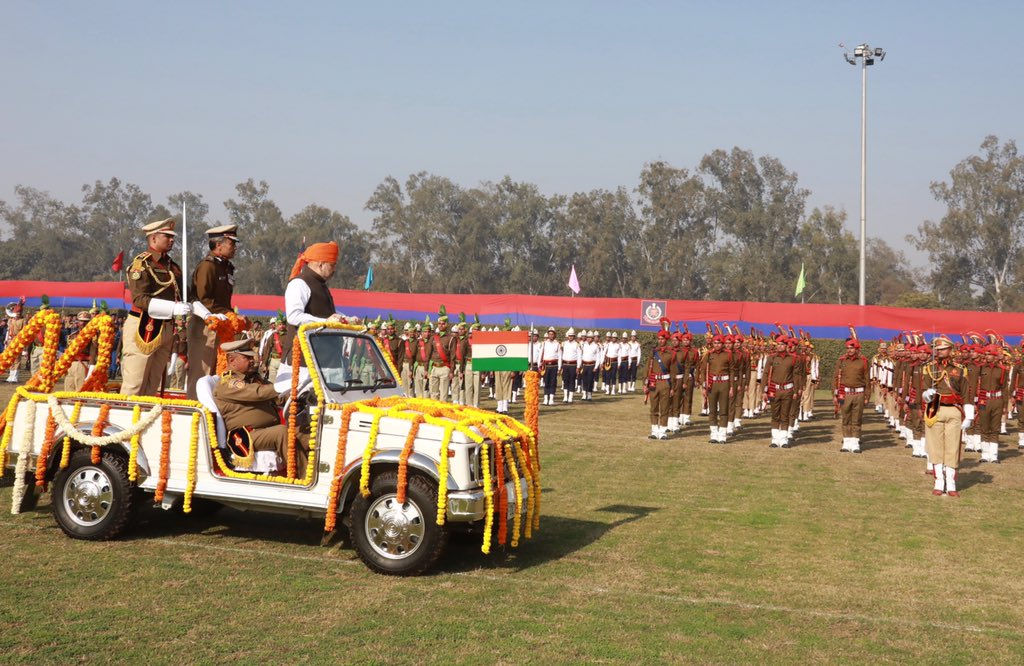 Attended the 73rd Raising Day Parade of Delhi Police.Delhi Police is one of the finest forces, which works round-the-clock to effectively maintain the law and order in our national capital.I salute our brave @DelhiPolice personnel for their selfless service and sacrifices.