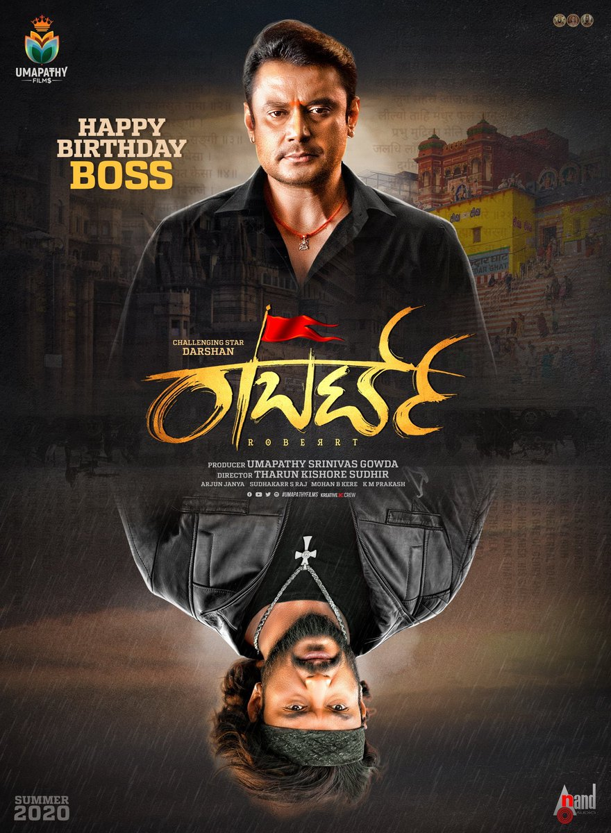 Many many happy returns of the day @dasadarshan sir #RoberrtTeaser has set the expectations sky high..amazing work @TharunSudhir sir..best wishes to the entire team ☺️https://youtu.be/AqQ6bL7GOf0  #HBDChallengingStarDarshan