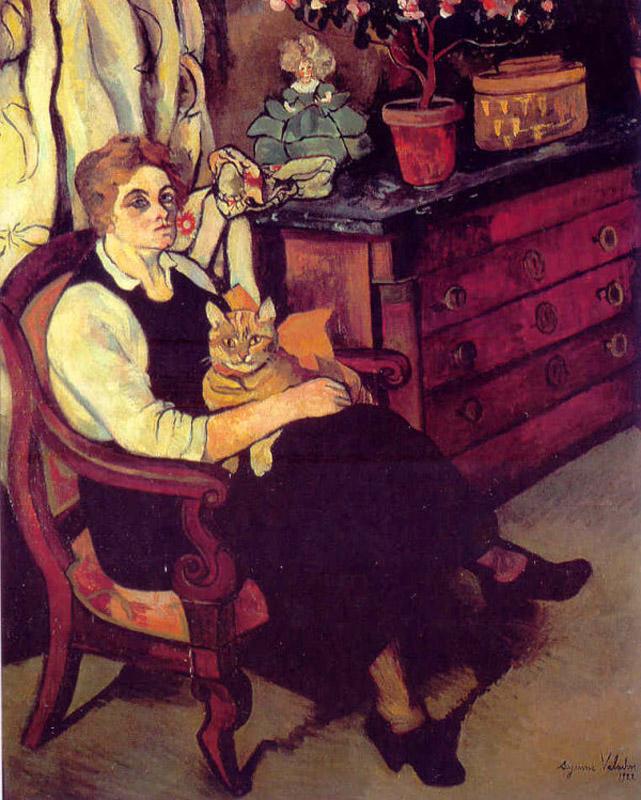 Miss Lily Walton, 1922 #suzannevaladon #valadon