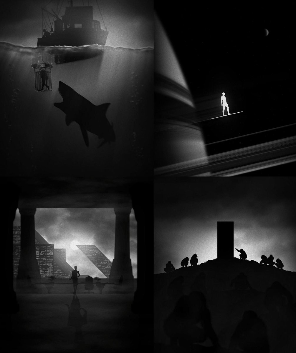 Noir-Style Movie Posters By Marko Manev #movies pic.twitter.com/Wl2CbHY8Nk