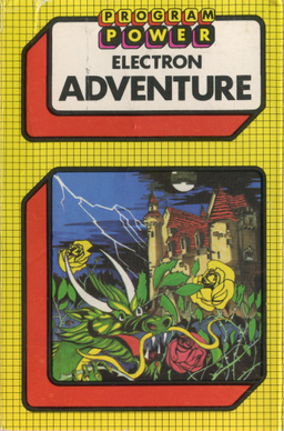 adventure is a computer game published in the uk by micro power. it was released on the acorn atom sometime around 1982.  and on the acorn electron and bbc micro in 1983. The game is a text adventure. pic.twitter.com/yVqsPA4Ofl