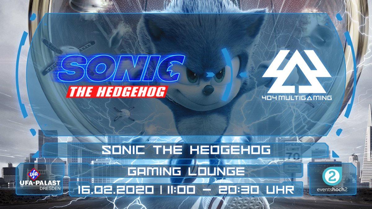 Heute noch nichts vor? #SonictheHedgehog ist in den Kinos! Wir feiern den blauen Igel und spielen mit euch im Kino Sonic-Games der vergangenen Jahrzehnte. Also für eure Sonntagsplanung schlagen wir vor: Besuch im #UFAKristallpalast und ein wenig zocken.#404MG #Gaming #Dresdenpic.twitter.com/9eoO2DMlCq