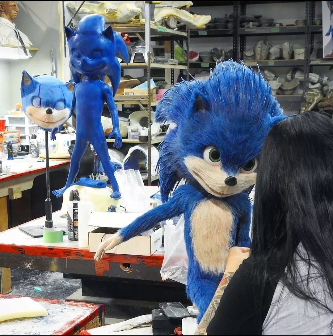 Tails Channel Sonic The Hedgehog News Updates On Twitter Take A Look At These Sonicmovie Stand Ins Sonicnews