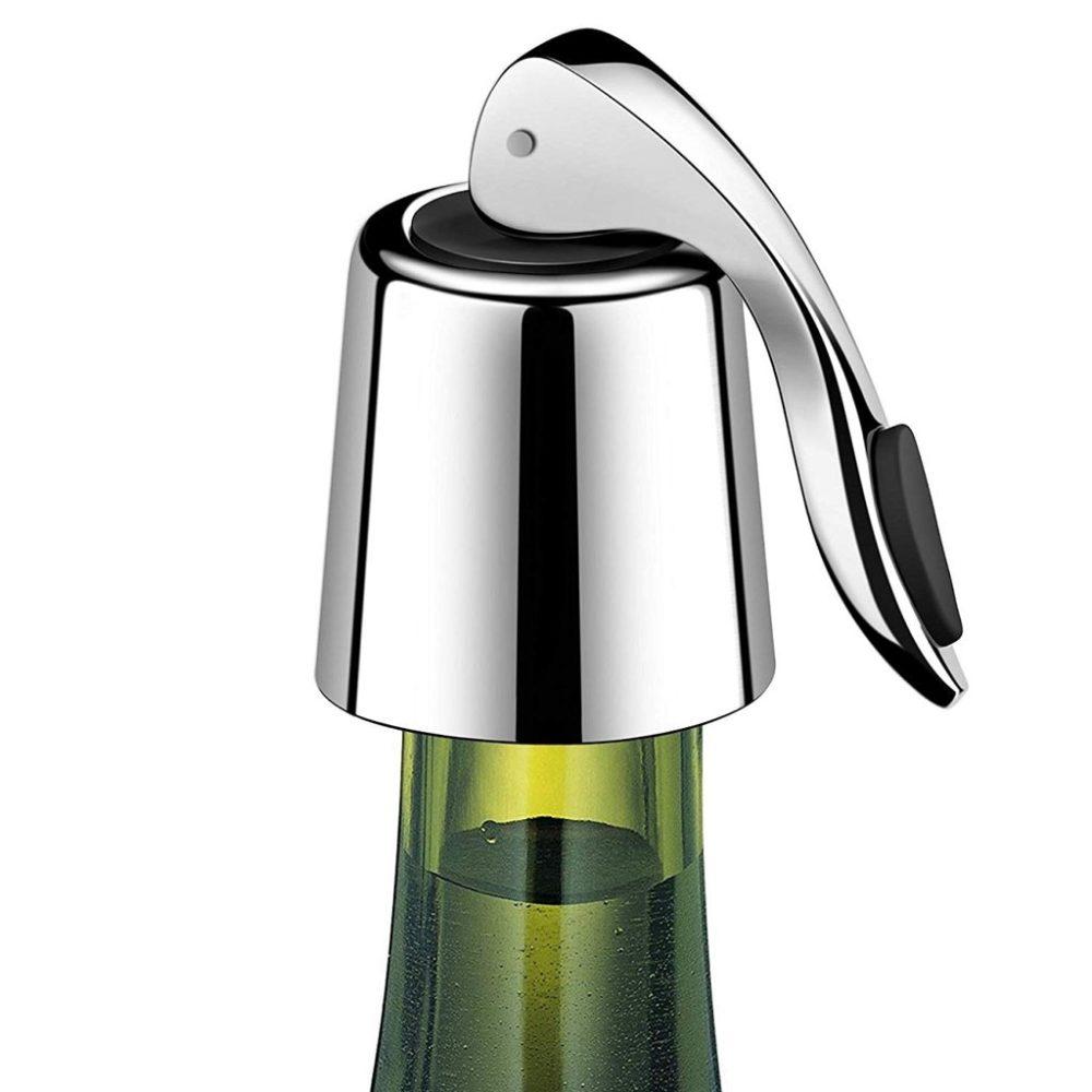 #summer #drinkup Reusable Stainless Steel Bottle Stopper https://all4thebar.com/reusable-stainless-steel-bottle-stopper/…