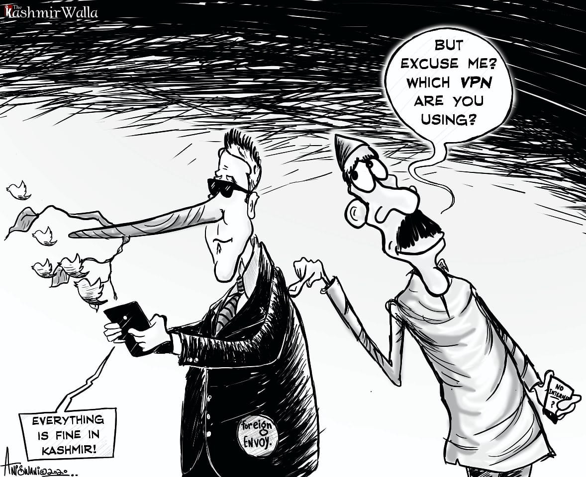 Which VPN is it, Mr. Envoy? By @_aniswani #kashmir