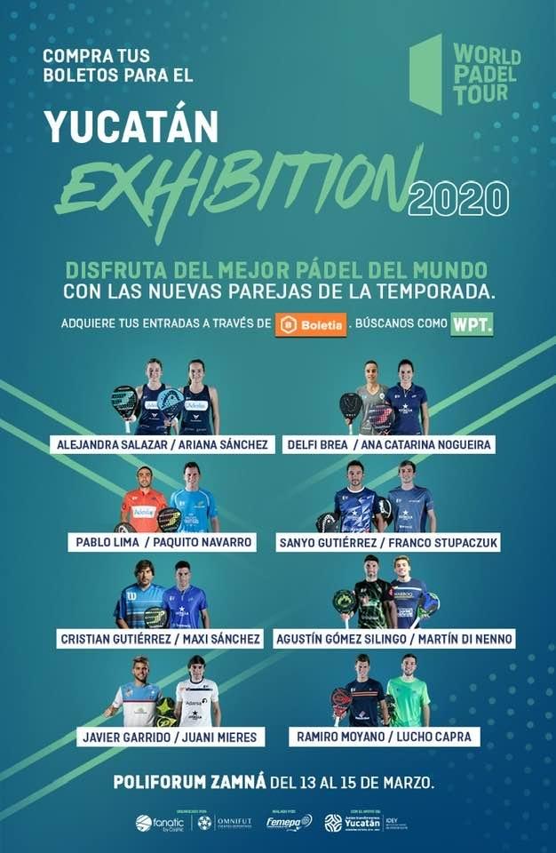 El cartel oficial del Yucatán Exhibition.