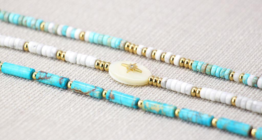 Stone & Shell encuentra su inspiración en el color del mar, aportando luminosidad a la piel y un toque muy veraniego.https://www.anartxy.com/es/pulseras/29387-12617-pulsera-piedras-bpu016.html#/139-color_metal-dorado/158-color-blanco…#anartxy #sea #SS2020 #summer #newcollection #jewellery