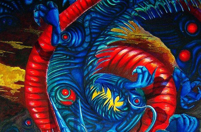 ネオグラフィティー  #rockstyle #dystopia #ディストピア #skullart #graphicart #gladnews #psychedelicart #psychedelic #サイケデリック #サイケデリックアート #サイバーパンク #cyberpunk #インスタ映え #skullart #tribal #graffitipic.twitter.com/hw5fab8YW3