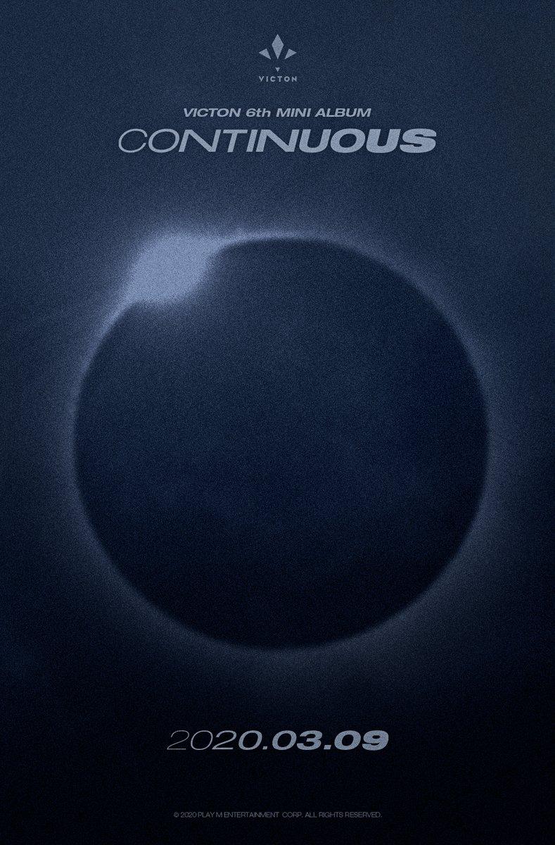 [#빅톤] VICTON 6th MINI ALBUM [CONTINUOUS] COMING SOON  2020.03.09 18:00  #VICTON #CONTINUOUS