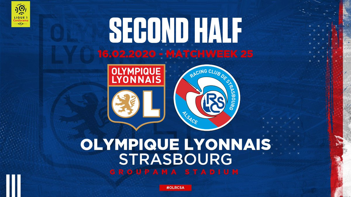 46' Back out for the second half!  #OLRCSA 1-1