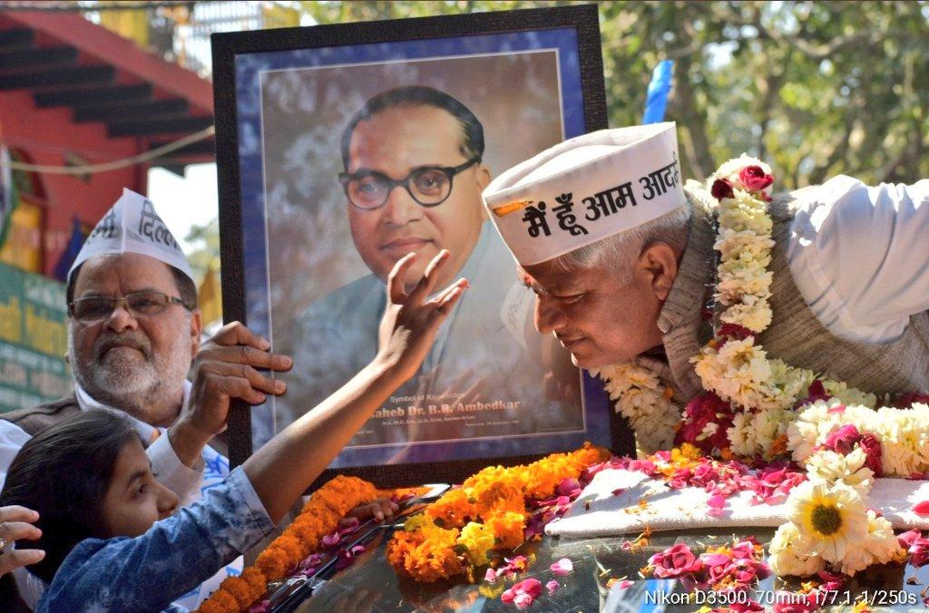 इतिहास गवाह बनेगा...इस ख़ूबसूरत तस्वीर का @AdvRajendraPal @ArvindKejriwal @msisodia