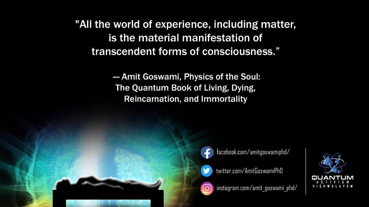 #AmitGoswamiPhD #QuantumPhysics  #QuantumActivismVishwalayam #QuantumSciencepic.twitter.com/XrqLeobd7S
