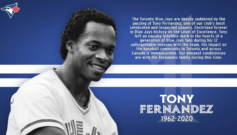 We will miss you, Tony 💙