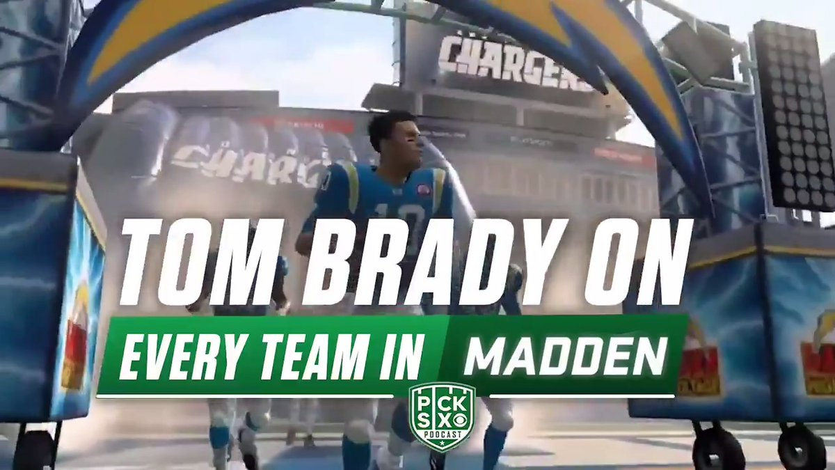 Looking at 'Madden NFL 20' simulations for Tom Brady on all 32 teams