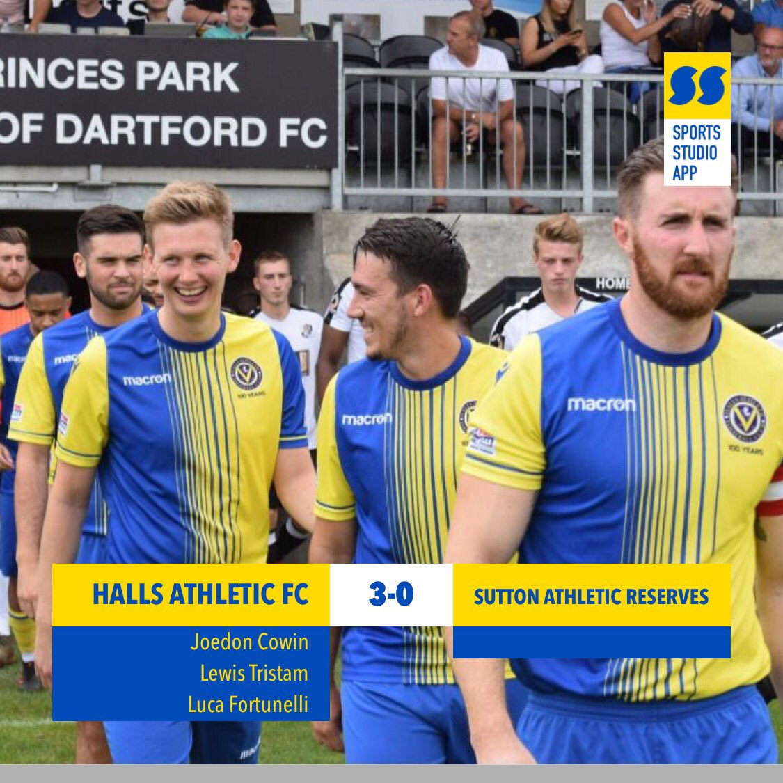 test Twitter Media - That makes it 6 wins on the bounce. Another professional performance in awful conditions! Another clean sheet to add which makes it 5 in 6. Goals from Joedon, @LewisTristram_  and Luca. MOM @LewisTristram_ 💛💙💛💙 #HAFC #100thseason https://t.co/8MwYMsC8Ek
