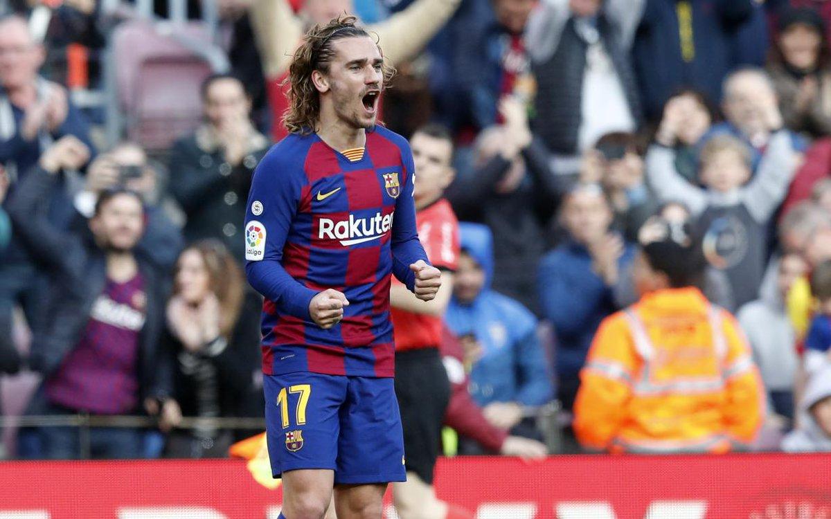 🎥 Revivez la victoire du Barça contre Getafe avec les buts de @AntoGriezmann et @Sergiroberto10  👉 http://barca.link/v6LT50ynA4L #BarçaGetafe