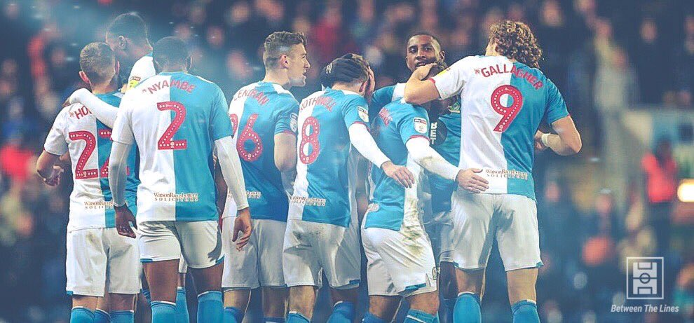 🏴 Points with English ONLY goal scorers (CH: 19/20):  6️⃣0️⃣ - 💥 BLACKBURN 💥 53 - Millwall 52 - Forest, Leeds 51 - Cardiff 49 - Brentford 48 - PNE 44 - Hull, WBA  @Rovers have scored 33 goals by English players ⚽️  #Rovers #MillwallFC #NFFC #LUFC #BrentfordFC #PNEFC #HCAFC #WBA