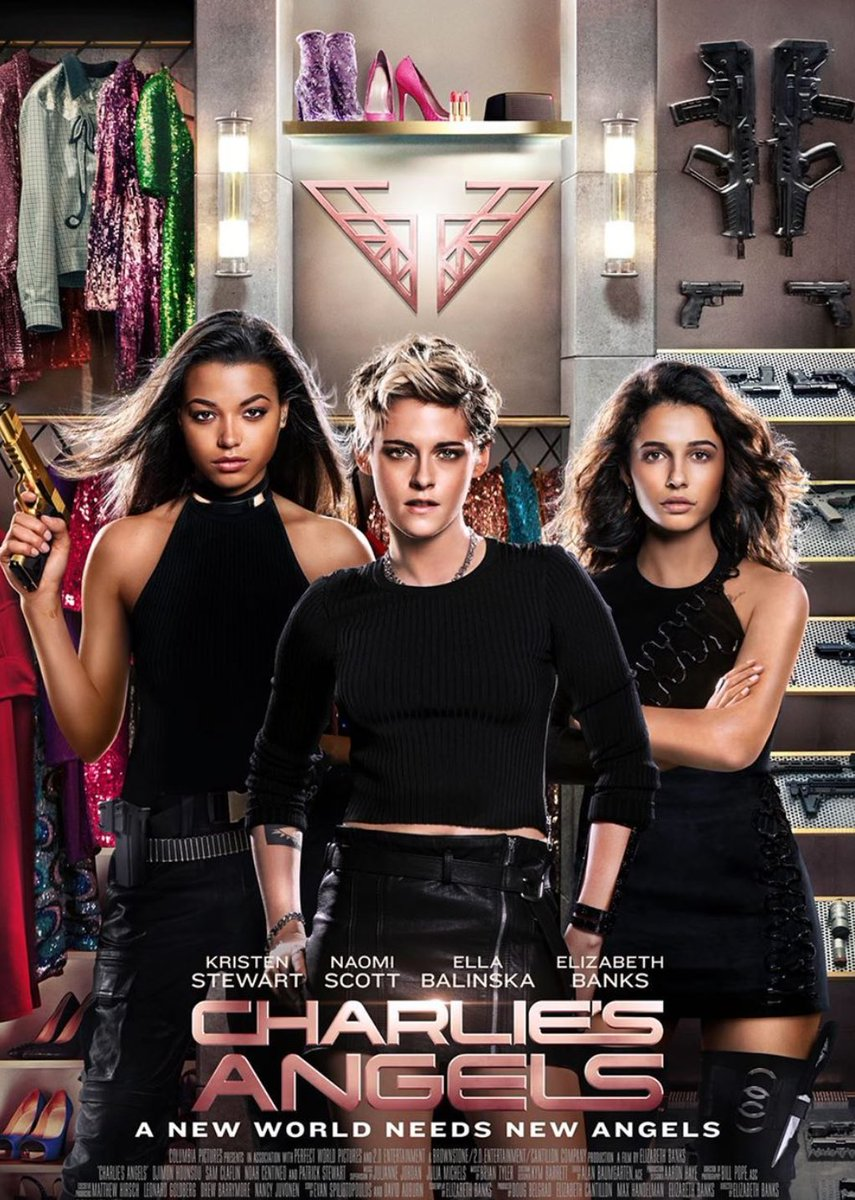 Yay or Nay ?? Rate this movie on the scale of 1-10 #CharliesAngels #movies pic.twitter.com/jJ93lJIuvq