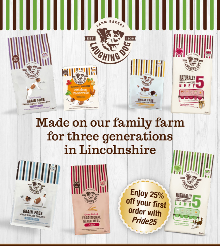 Have you seen our advert in the February edition of Pride Magazine? @lincolnshirepride  https://www. laughingdogfood.com/all-dog-food.h tml  …  #dog #dogs #sundayvibes #lincolnshirelife  #lincolnshiredogs #lincslife #lincolnshire #sundayfunday #sundaymornings #sundaylove<br>http://pic.twitter.com/vn2YXgaSHk